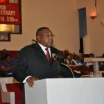 Master of Ceremonies, Bro. Kenneth Robinson